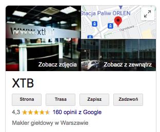 Xtb opinie google